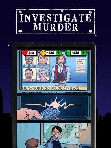 Uncrime: Crime investigation & Detective gameud83dudd0eud83dudd26 android2mod screenshots 8