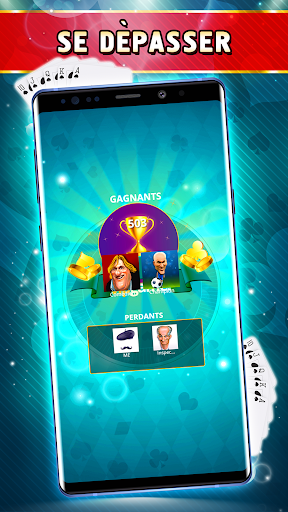 Belote Offline - Single Player Card Game screenshots 5