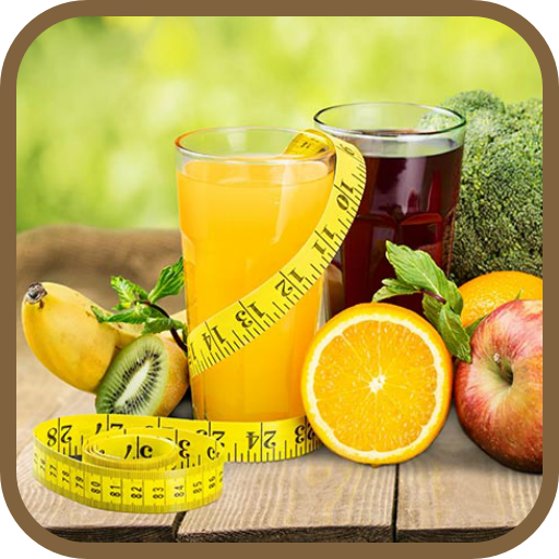 Weight loss juices icon