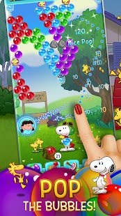 Snoopy POP! - Bubble Shooter: Bubble Pop Game Screenshot