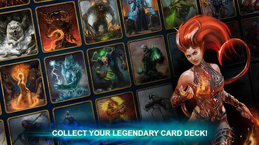 Blood of Titans: Quest & Battle Fantasy CCG screenshots 1