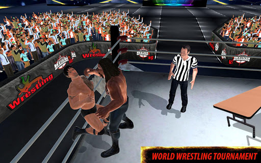 World Wrestling Revolution Stars: 2017 Real Fights 1.0.2 Screenshots 14