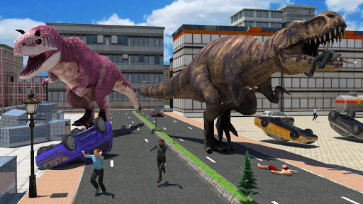 Dinosaur Simulator Games 2021 - Dino Sim 2.6 screenshots 12