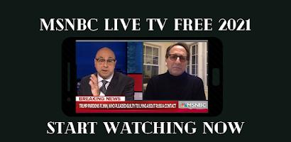 LIVE TV APP FOR MSNBC STREAM APP FREE HD
