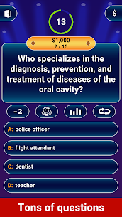Free Millionaire 2021 –  Logic Trivia Quiz Offline Game Apk Download 2021 1