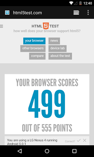 Android System WebView Beta screenshots 1