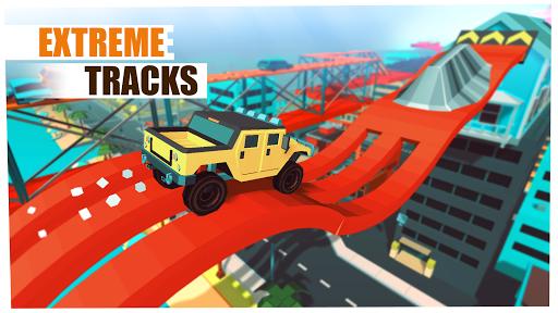 Skill Test - Extreme Stunts Racing Game 2020 screenshots 4