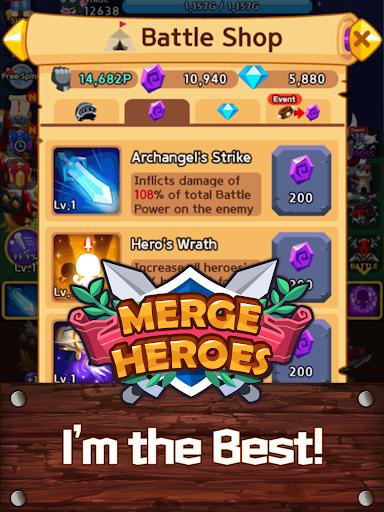 Merge Heroes Frontier: Casual RPG Online 3.3.0 screenshots 14