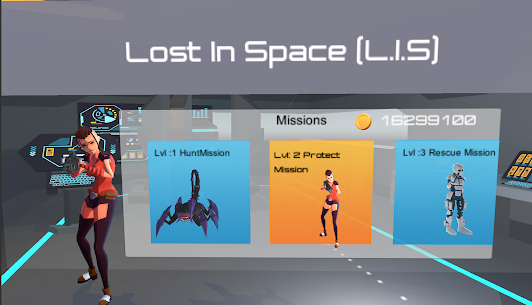 Lost In Space(L.I.S 3D) Alien / Zombie Shooter Game Hack & Cheats 2
