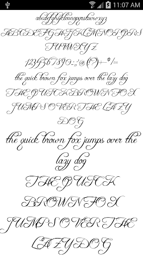 Fonts for FlipFont 50 #6 4.0.4 Screenshots 3