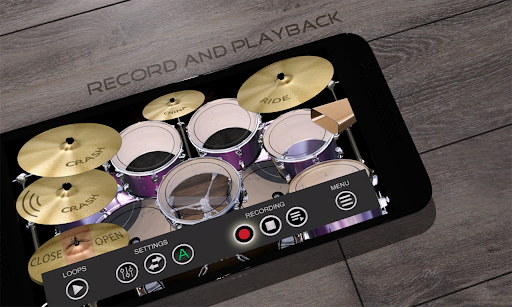 Simple Drums Rock - Realistic Drum Simulator 1.6.4 Screenshots 5