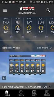 WBRC First Alert Weather screenshots 2