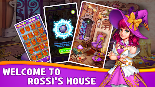 Witch & Magic: Match 3 Puzzle  screenshots 1