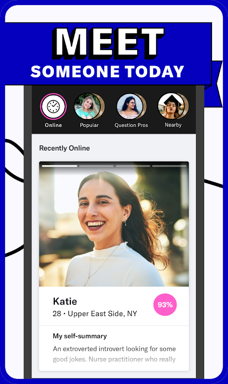 OkCupid - The Online Dating App for Great Dates  poster 3