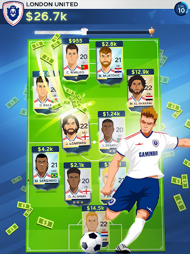 Idle Eleven - Be a millionaire soccer tycoon screenshots 9