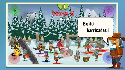 Four guys & Zombies (four-player game) 1.0.2 screenshots 2