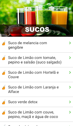 Foto do Dieta Detox Emagrecer Saudável com Sucos
