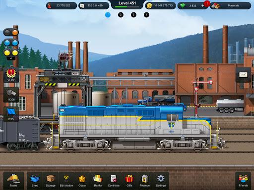 Train Station: Railroad Transport Line Simulator Apkfinish screenshots 11