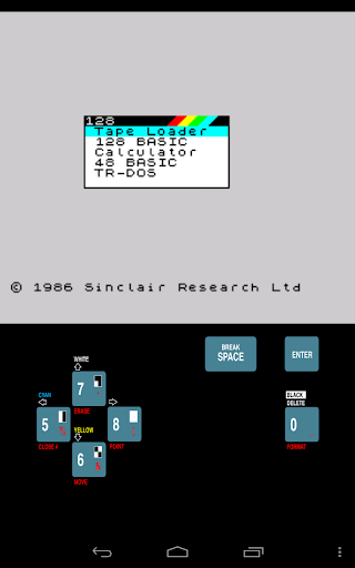 USP - ZX Spectrum Emulator 0.0.86.14 screenshots 12