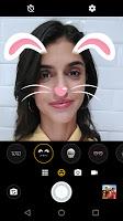 screenshot of Moto Face Filters