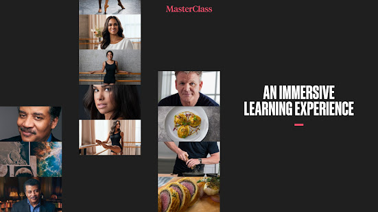 MasterClass: Learn from the best