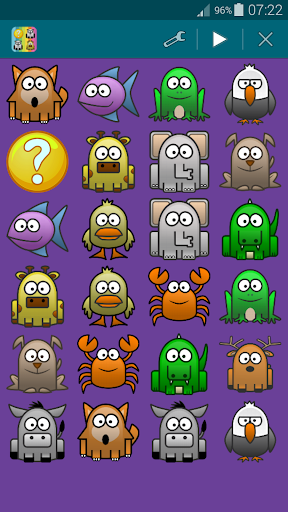 Animals 1, Memory Game (Pairs) For PC Windows (7, 8, 10, 10X) & Mac Computer Image Number- 16