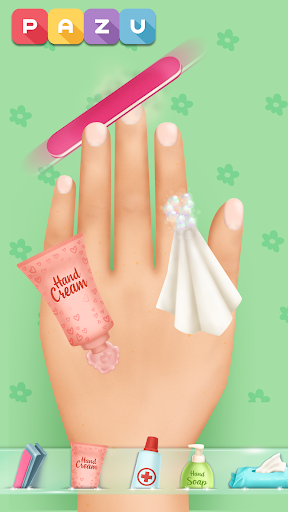 Girls Nail Salon - Manicure games for kids 1.21 Screenshots 4