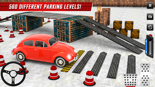 Classic Car Parking Real Driving Test apkpoly screenshots 10