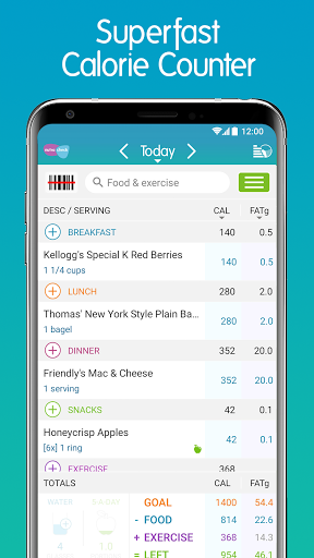 Calorie Counter + android2mod screenshots 1