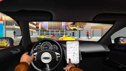 Taxi Sim Game free: Taxi Driver 3D - New 2021 Game apkslow screenshots 6