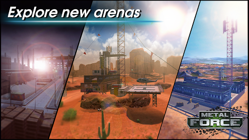 Metal Force: PvP Battle Cars and Tank Games Online  screenshots 13