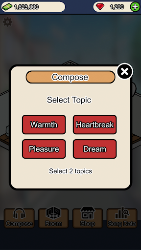 Musician Tycoon 2.7 pic 2