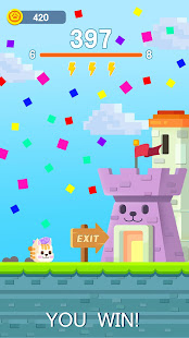 Square Cat - Square Kitten Run, Cat tower