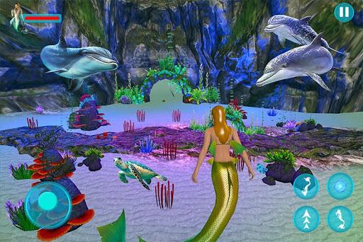 Mermaid Adventure Simulator: Beach & Sea Survival 0.1 screenshots 2