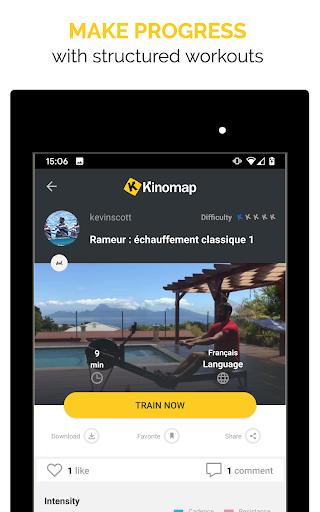 Kinomap - Indoor training videos  Screenshots 14