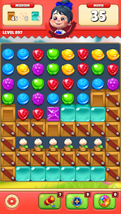 Sugar Hunter: Match 3 Puzzle Apk Mod + OBB/Data for Android. 7