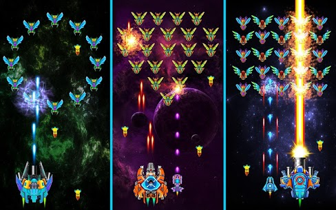 Hạm Đội: Đại Chiến Không Gian Ver. 32.7 MOD Menu APK | God Mode | Free Gold – Galaxy Attack: Alien Shooter MOD 5