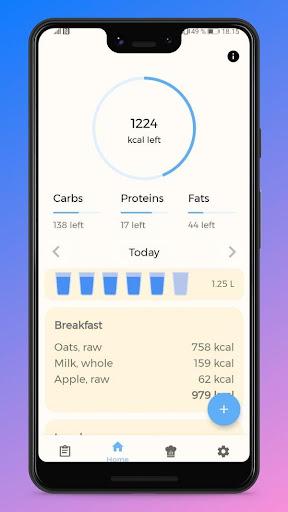 FeedApp: Calorie Tracker & Food Diary  screenshots 2