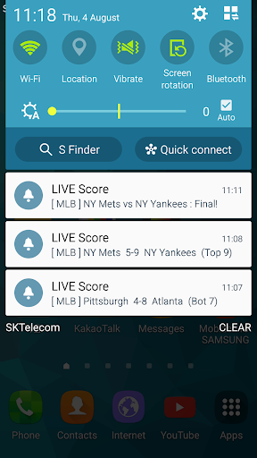 LIVE Score - EPL, MLB, NBA Real-time Score 38.7.0 Screenshots 8