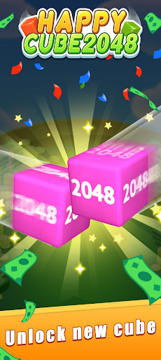 Happy Cube 2048 - merge 3D cube  screenshots 3