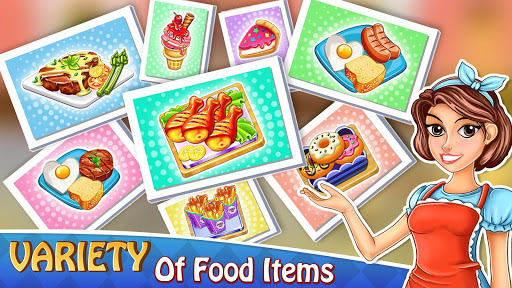 Cooking Delight Cafe Chef Restaurant Cooking Games  screenshots 5