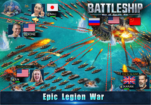 Battleship: Legion War of Pacific Rim apktram screenshots 3