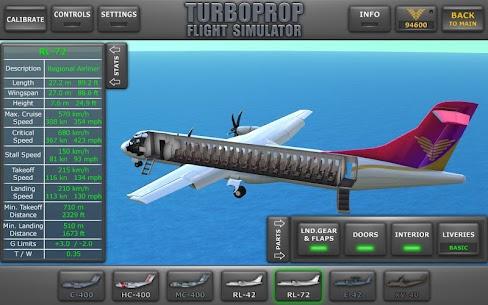Turboprop Flight Simulator 3D MOD APK 1.26.2 (Unlimited Money) 9