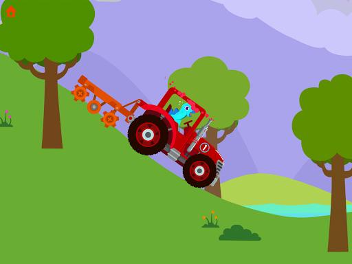 Dinosaur Farm - Tractor simulator games for kids screenshots 13