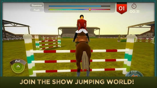 Jumping Horses Champions 2Free Screenshot
