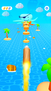 Log Thrower Mod Apk v1.2.6 [Unlimited Tickets/No Ads] 6