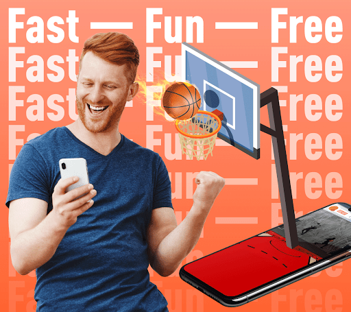 Basketball: Fast, Fun, Free android2mod screenshots 1