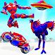 フライングダチョウロボット 自転車ロボットゲームを作る