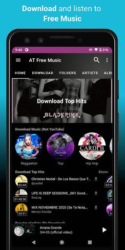 Video, Download, Music Free Player, MP3 Downloader  screenshots 2