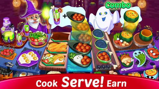 Halloween Cooking : Chef Restaurant Cooking Games apktram screenshots 4